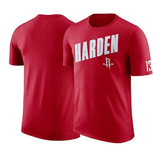 T-shirt NBA Rockets Thunder Celtics korte mouwen trainingspak met halve mouwen