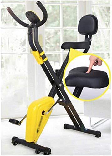 HYM La Bicicleta estática for Uso Particular Ligero Plegable de Ciclo de Spin Bike Equipo de Ejercicio Portátil Brazo Inicio Pedal Leg Cardio Training