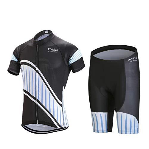 Heren-compressieshirt voor mountainbike, korte mouwen.