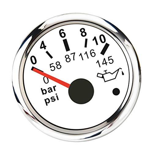 Unbekannt Öldruck Testgerät Öl-Meßgerät Motoröl Drucktester Öldruckprüfer Prüfer Werkzeug mit LED Hintergrundbeleuchtung