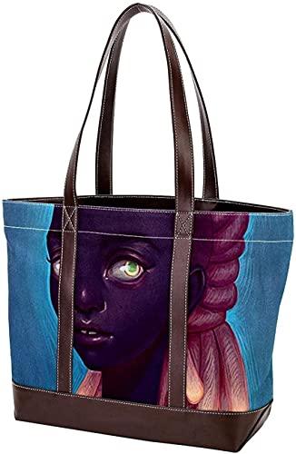 SpiceRack Umweltfreundliche TascheHandtaschen für Mutter Frauen Mädchen Damen Student Leichte Riemen Umhängetaschen Aquarell Pfingstrosen Einkaufstasche Geldbörse Einkaufen