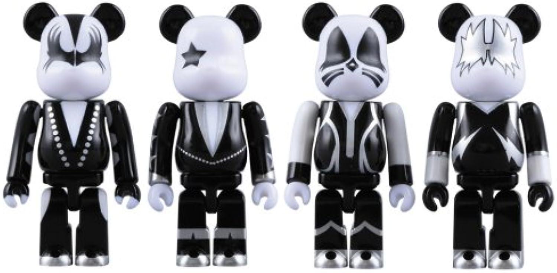 Medicom - Kiss pack 4 figurines Bearbrick 7 cm