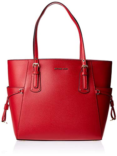 MICHAEL Michael Kors Voyager East/West Tote Bright Red One Size