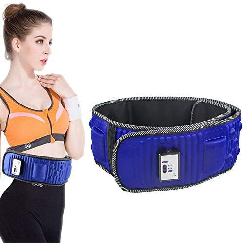 WXH Einstellbarer elektrischer vibrierender Slimmerbelt-Massagegerät, Fettverbrennungstrainer für Gewichtsverlust, 50