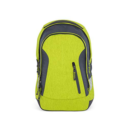 SATCH Ginger Lime Schulrucksack, 45 cm, 24 L, Green Melange
