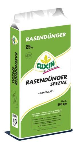 CUXIN DCM Rasendünger Spezial Granulat 25 kg Profidünger Frühjahrsdünger