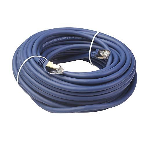 TEEAN Cable Ethernet Cat8 Cable de Red RJ45 SFTP LAN RJ45 Jumper para PS 4 Ordenador PortáTil Router 8 Cable Ethernet15Metro