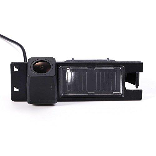 Navinio Telecamera per retromarcia a colori Telecamera di assistenza al parcheggio per illuminazione targa, luce targa per Opel Astra H Corsa D Vectra C Tigra Meriva A Regal Insignia