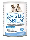 PetAg Esbilac Goat's Milk Powder Puppy Milk Replacer - Milk Formula for Puppies with Sensitive Digestive Systems - 12 oz
