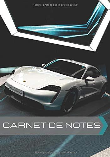 Carnet de notes: Carnet de notes Porsche Taycan | Voiture de luxe | format 7x10 pouces, 100 pages |...