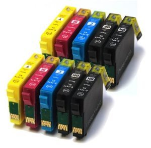 10 XL Druckerpatronen kompatibel für Epson Workforce Pro WF-4630DWF, WF-4640DTWF, WF-5110DW, WF-5190DW, WF-5620DWF, WF-5690DWF