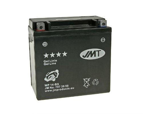 Batterie JMT Gel JMTX14-BS für Kawasaki VN 800 E Drifter Bj. 2002-2003 - inkl. 7,50 EUR Batteriepfand