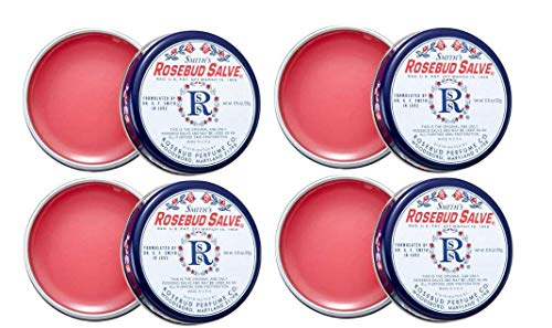Smith's Rosebud Salve Tin .8 oz (Pack of 4)