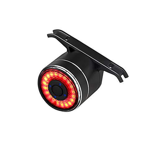 XIAOKOA Fanale Posteriore per Bicicletta,Fanali Posteriori Colorati,Fanale Posteriore Impermeabile a LED,Fanale Posteriore di Ricarica USB,Fanale Posteriore di Avvertimento per Bicicletta