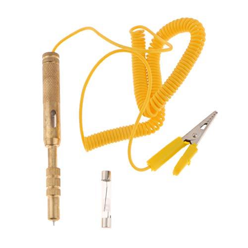 B Baosity DC 12/24V Spannungsprüfer Test Pen Tool Prüflampe Motorrad Circuit Tester