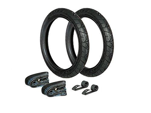 AKF Set: 2x Reifen 2.75 x 16 Heidenau K55 + 2x Schläuche + 2x Felgenband