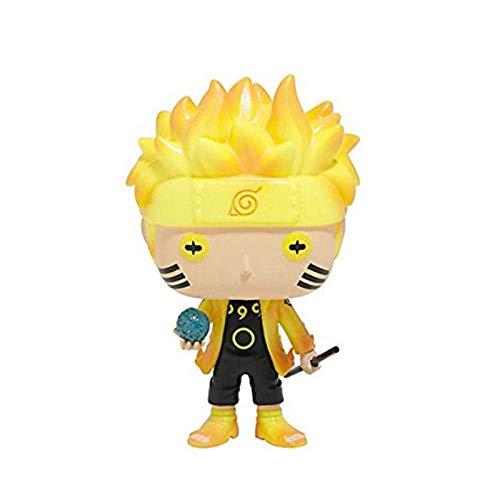VNNY Juguetes de Anime superhéroes Uzumaki Naruto Rikudousennin Modo Figuras de acción de Juguete muñecas de Modelos coleccionables para niños Amigos Regalos-Blanco