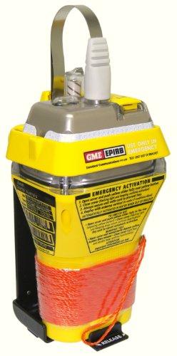 GME MT403G GPS - Radiobaliza de Emergencia RLS para Barcos, Color Amarillo/Naranja