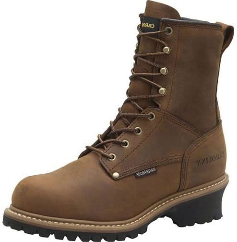 Carolina Boots: Men's Waterproof Insulated Logger Boots CA4823