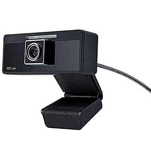 Wdonddonsxt webcam HD 720P del USB del ordenador portátil PC Video Conferencia Webcam, Manual Focusin y Built-in de reducción de ruido del micrófono, Plug and Play Video Computer Calling Webcam Conven