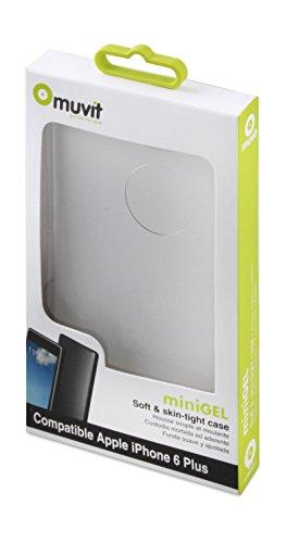 Muvit Minigel - Funda transparente para Apple iPhone 6 Plus / 6S