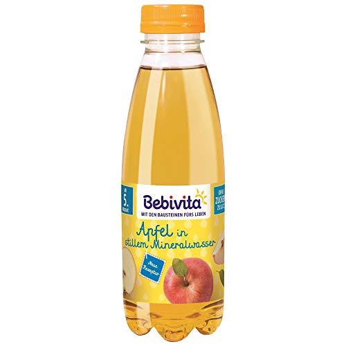 Bebivita Saft & Mineralwasser Apfelsaft in stillem Mineralwasser, 500 ml