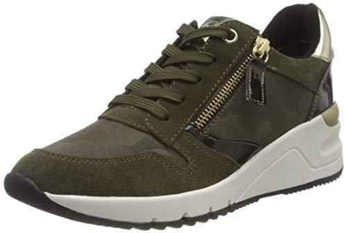 Tamaris Damen 1-1-23702-25 Sneaker, grün, 40 EU
