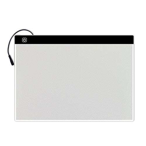 FixtureDisplays A3 17X11' Thin Tracing Light Box LED Light Pad Light Tracer for Artcraft Tracing Animation Drawing Sketching Calligraph 18154-NPF