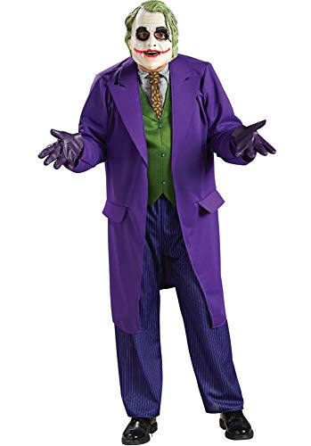 Rubie's Costume Batman The Dark Knight Deluxe The Joker Costume, Black/Purple, Standard