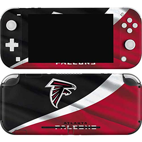 Skinit Decal Gaming Skin Compatible with Nintendo Switch Lite - Officially Licensed NFL Atlanta Falcons Design