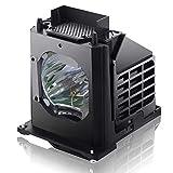 WOWSAI Mitsubishi TV Replacement Lamp 915B403001 / 915B403A01 with Housing - Full Warranty