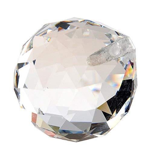 10 stks/partij, 30mm crystal prisma sun catcher facet bal kroonluchter bal onderdelen voor bruiloft & fengshui producten, X-MAS decoratie