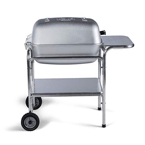 PK Grills PKO-SCAX-X Original PK Grill & Smoker Grill Smoker, Silver