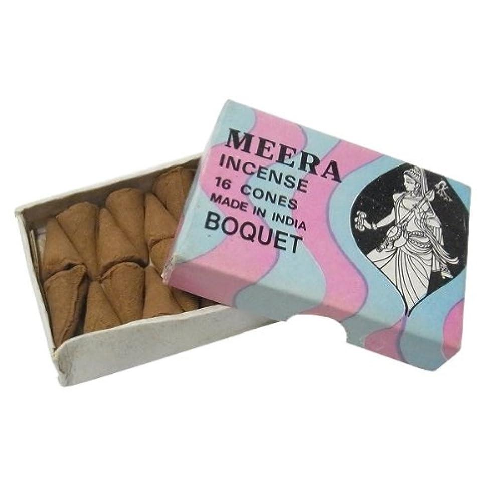 専門化するシャッターテクニカルブーケのお香(MEERA) コーン型お香 インド香
