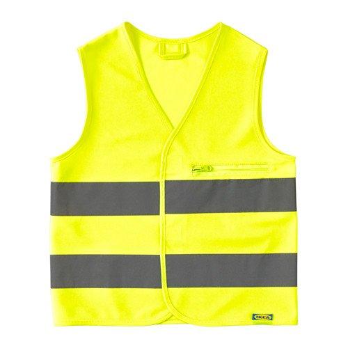 IKEA beskydda Hohe Sichtbarkeit Weste die Zipp und Tasche, xs