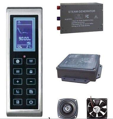 LCD Display Steam Room Controller KL-902 Steam Generator 3kW+Fan+Speaker