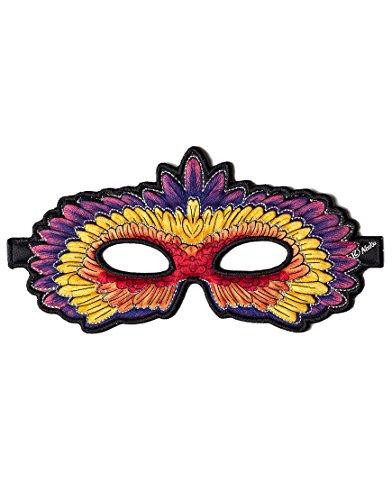 Dreamy Dress-Ups 50790 Mask, Red Parrot, Eclectus roratus (masque en tissu, oiseau)