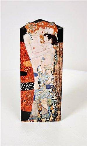 John Beswick Les trois âges de la femme de Klimt Art Vase céramique Hauteur 23