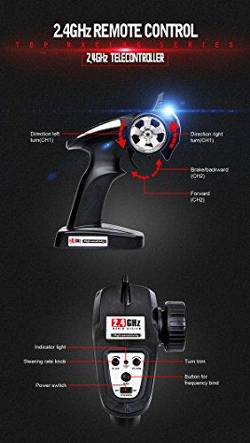 RC Auto kaufen Truggy Bild 4: SUBOTECH BG1510 LYL Ferngesteuerte Autos f r Draussen, RC Auto Elektrisch 4WD 1 24 RTR 40km h, 2 4ghz, Orange*