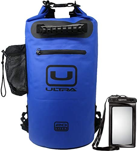 Ultra Waterproof Dry Bag with Easy Access Front Zippered Pocket Side Pocket Padded Shoulder product image
