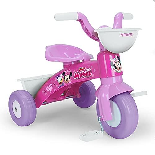 INJUSA- Triciclo Baby Trico Minnie Mouse Disney Infantil, Color Rosa (3531)
