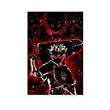 Anime Black Clover Asta HD Art Poster 1 Poster Pittura Decorativa Tela Wall Art Soggiorno Poster Camera da Letto Pittura 30x45cm