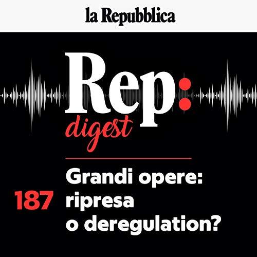 Couverture de Grandi opere. Ripresa o deregulation?