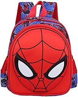 schoolbag primary scholar cartoon 3D spider man bag kindergarten shoulder bag
