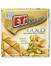 Eti Gold Antep Fıstıklı Beyaz Çikolata 60 g