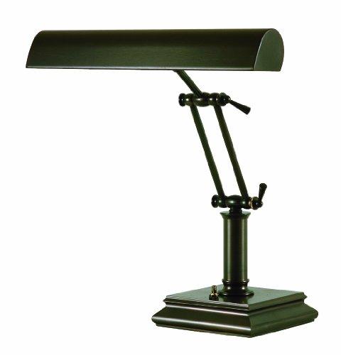 House of Troy P14-201-81 14-Inch Portable Desk/Piano Lamp, Mahogany Bronze