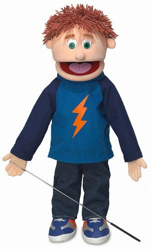 25' Tommy, Peach Boy, Full Body, Ventriloquist Style Puppet