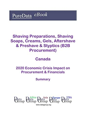 Shaving Preparations, Shaving Soaps, Creams, Gels, Aftershave & Preshave & Styptics (B2B Procurement) Canada Summary: 2020 Economic Crisis Impact on Revenues & Financials (English Edition)