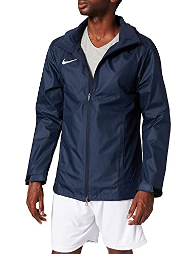 NIKE M NK Rpl Acdmy 18 Rn Jkt Sport jacket, Hombre, Obsidian/ Obsidian/ White, 2XL