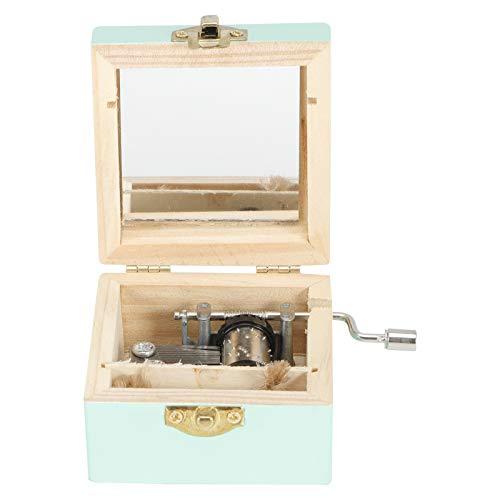 Carillon Carillon a manovella in Legno Vintage Carillon di Compleanno Matrimonio San...